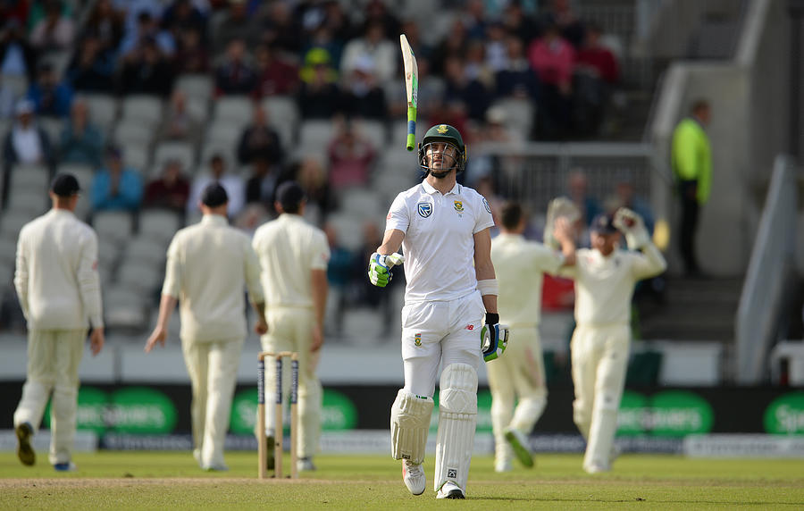 England v South Africa - 4th Investec Test: Day Four Photograph by Philip Brown