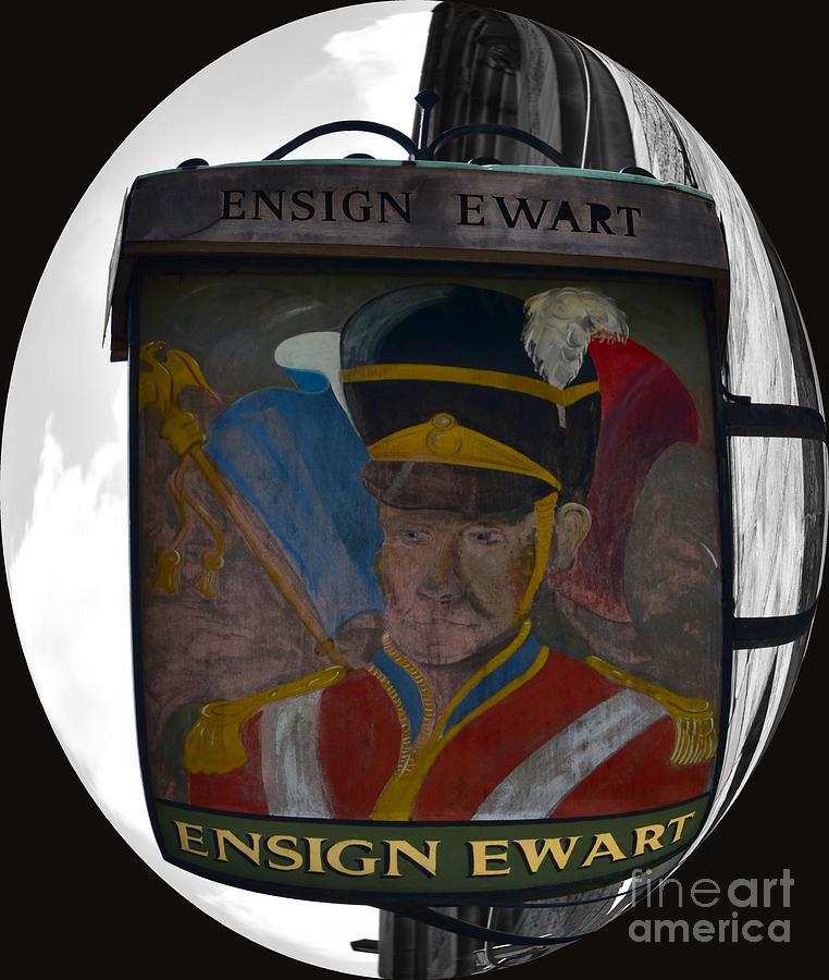 Ensign Ewart Pub Sign, Lawnmarket, Edinburgh by Yvonne Johnstone