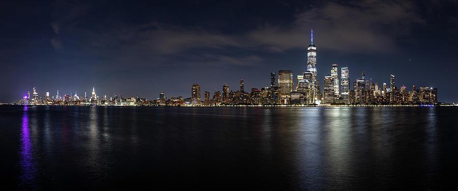 Entire Manhattan Skyline. Photograph