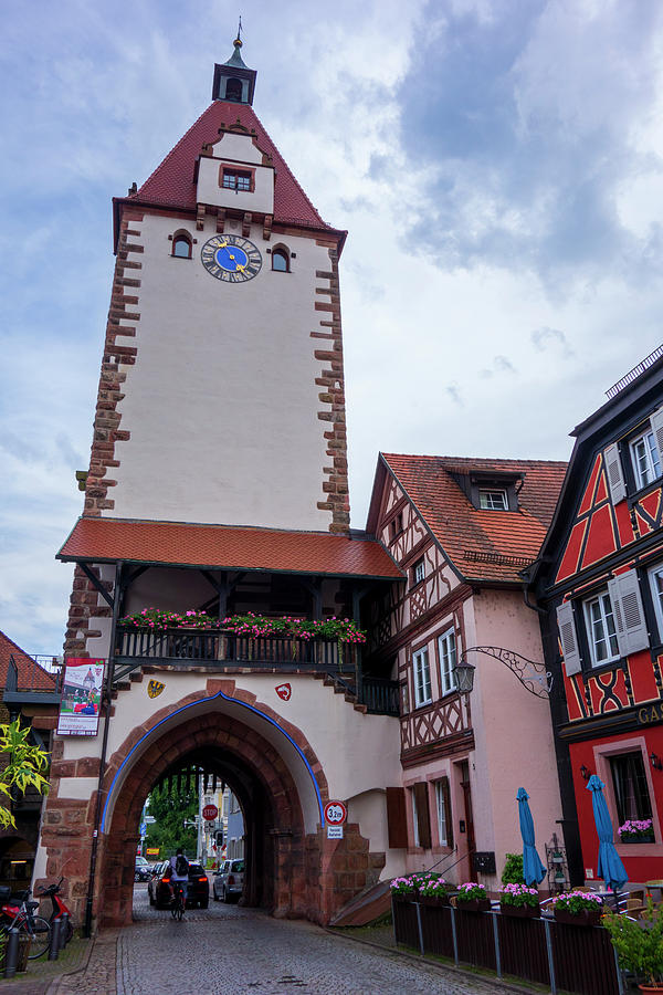 Age Photograph - Entrance To The Beautiful Village Of Gengenbach by Vicen Photography