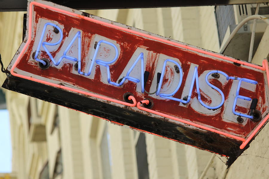 Paradise Photograph - Entry To Paradise by Callen Harty