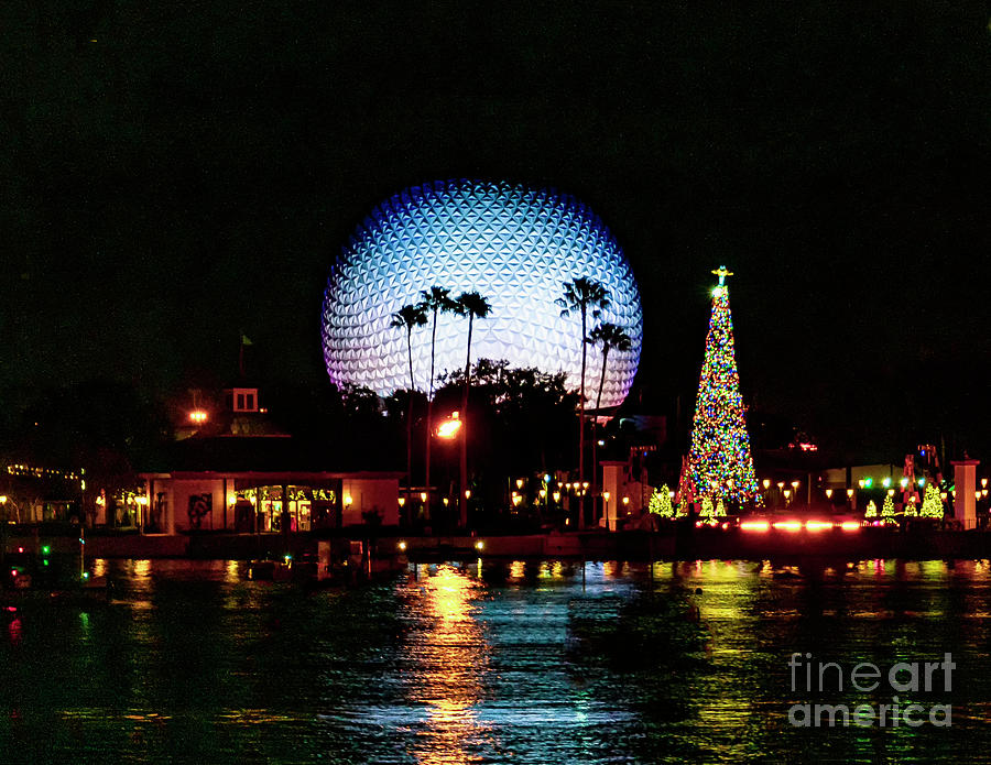 EPCOT at Night by Nick Zelinsky