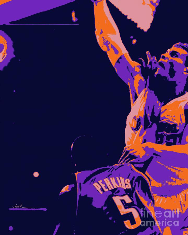 Dunk Painting - Epic Dunk Blake Griffin by Jack Bunds