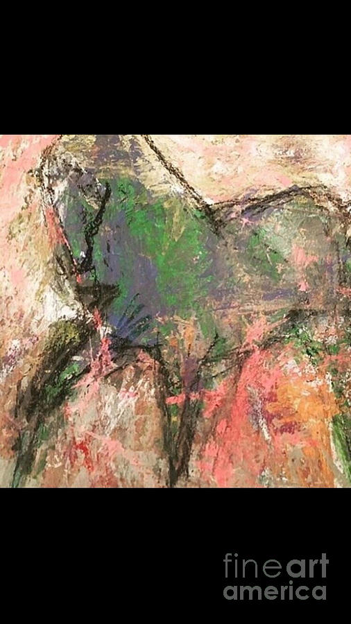 Horse Painting - Equine  by Mark Macko