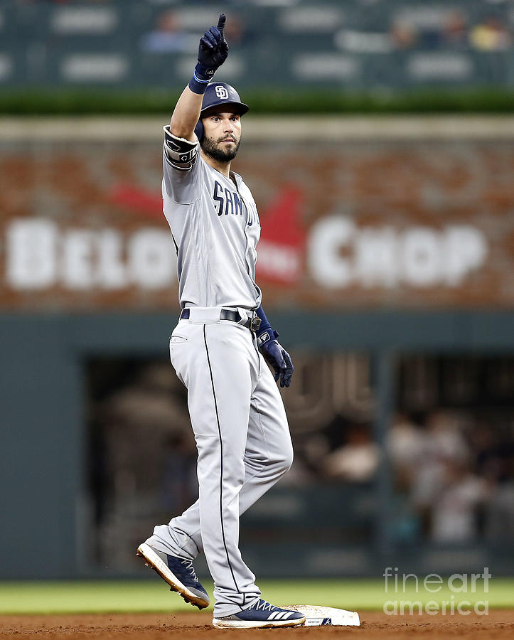 Eric Hosmer Photograph by Mike Zarrilli