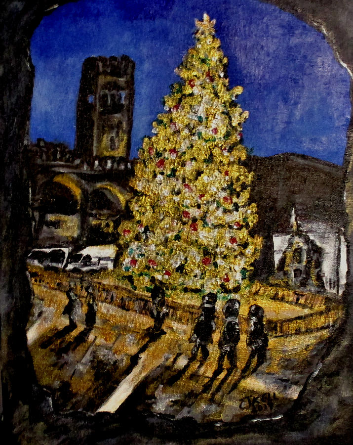 Erika's Christmas Tree by Clyde J Kell