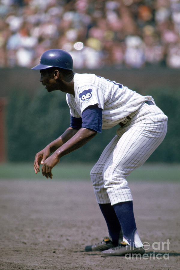 Ernie Banks Photograph by Mlb Photos