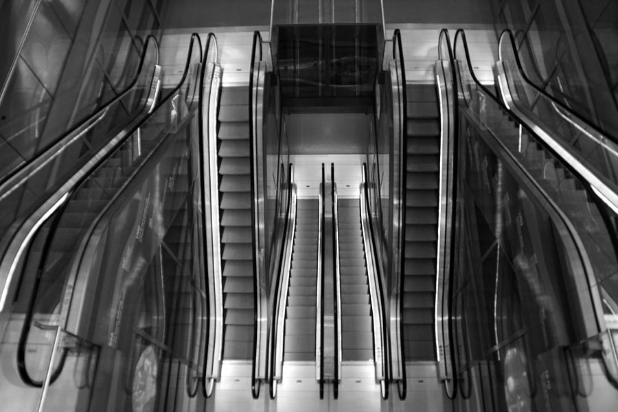 escalators by Jolly Van der Velden