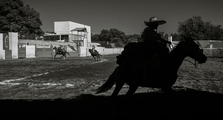 Mexico Photograph - Escaramuza Cowgirl in Mexico by Dane Strom