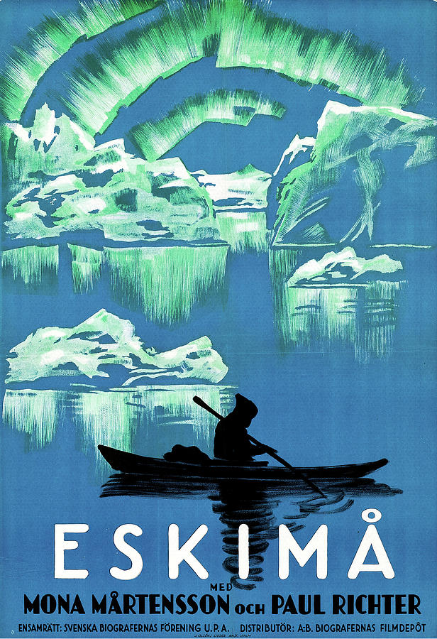 eskimo, 1930 Mixed Media