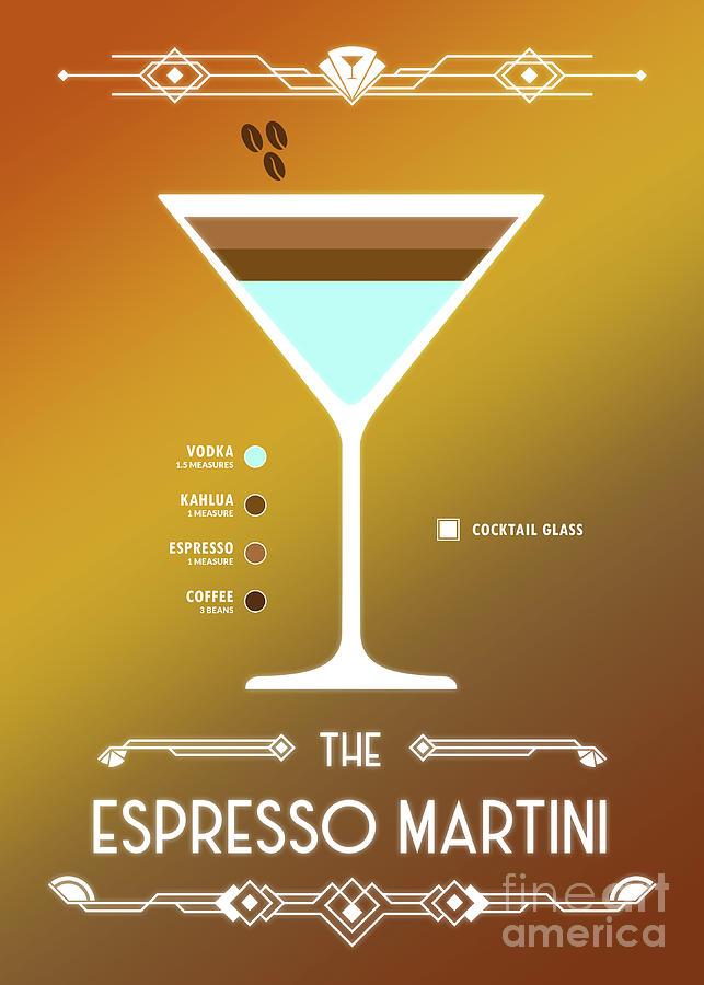 Cocktail Martini Modern Tote Bag