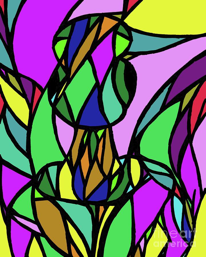 Et Mosaic Digital Art