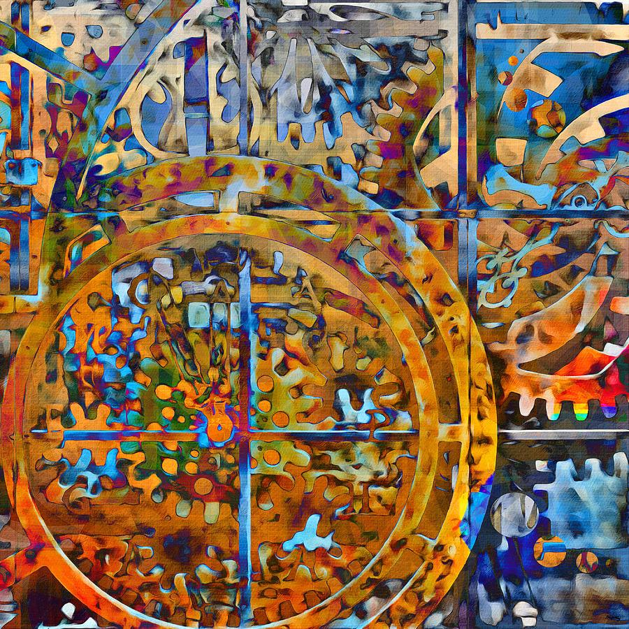 Eternal Clock by Glenn McCarthy