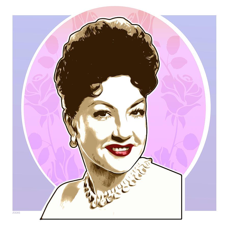 Ethel Merman Digital Art