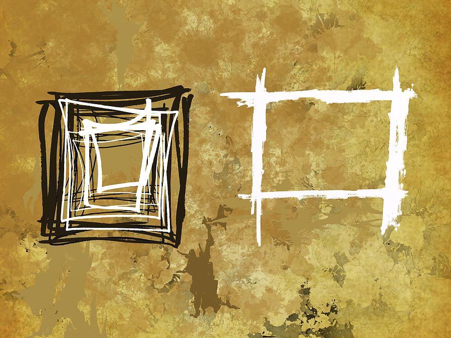 Ethnic Squares Digital Art