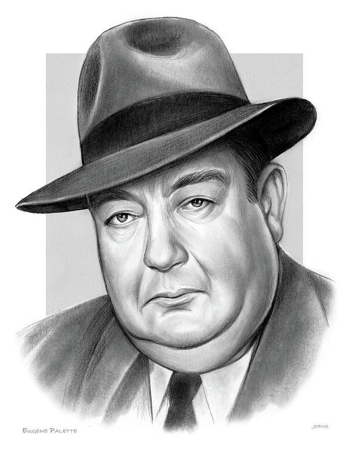 Eugene Pallette Drawing
