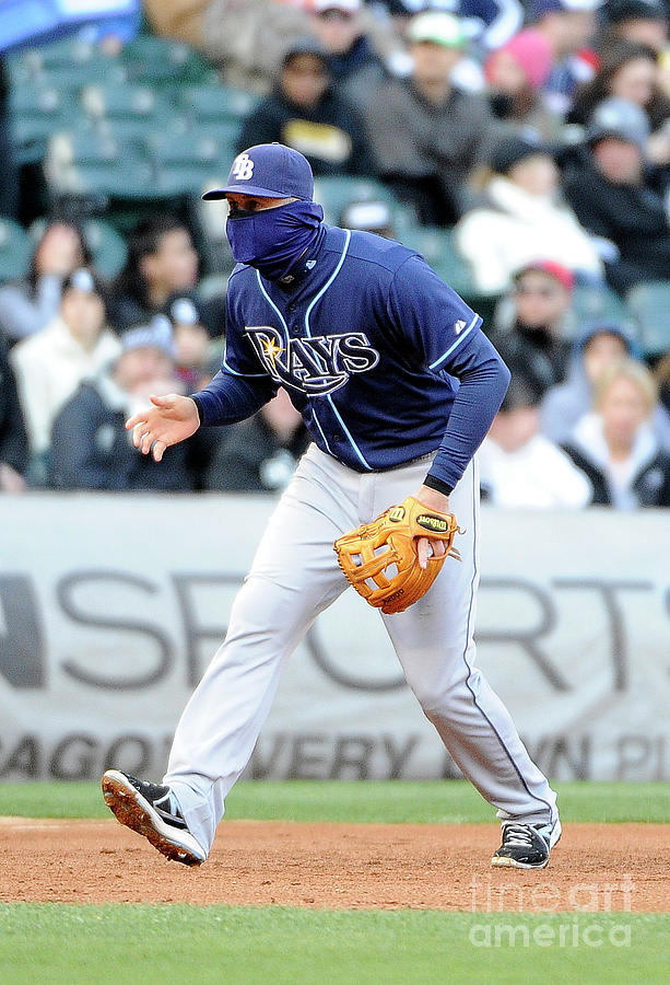 Evan Longoria Photograph by David Banks