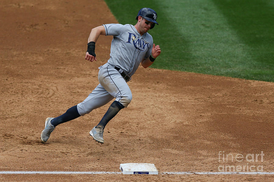Evan Longoria Photograph by Justin Edmonds