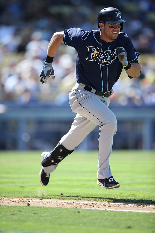 Evan Longoria Photograph by Paul Spinelli
