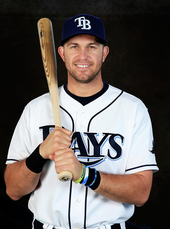 Evan Longoria Photograph by Rob Carr