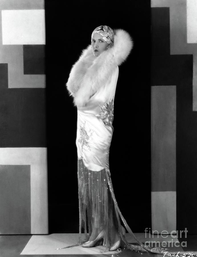 Evelyn Brent - Art Deco Photograph