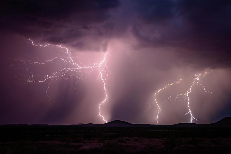 Evening Lightning by John Wilkinson
