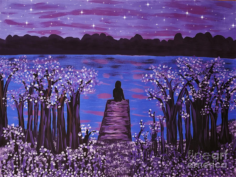 Evening Meditation Painting