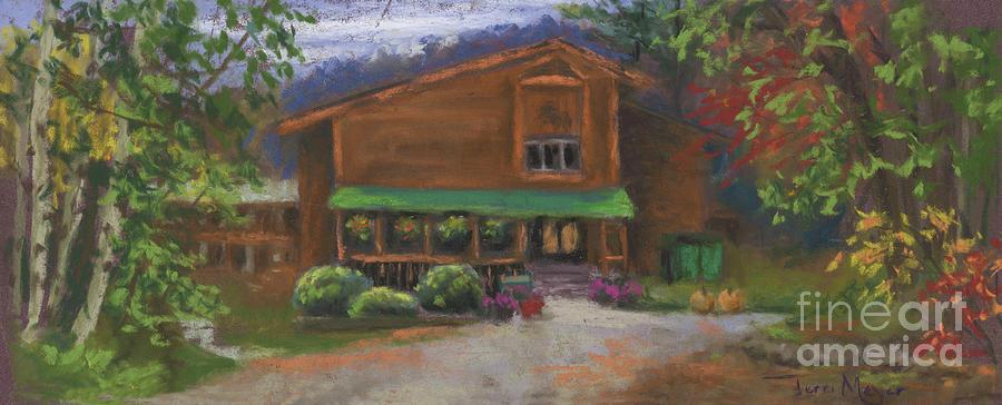 Evergreen Valley Resort Painting