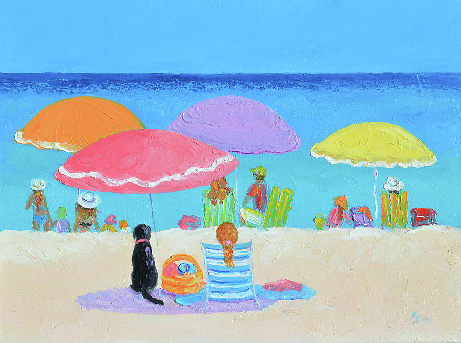 Every Day Is Beach Day Painting