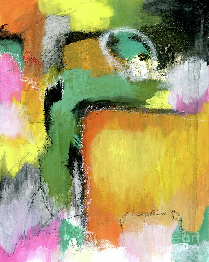 Abstract Expressionist Painting - Everything to Gain Abstract Expressionist Painting by Itaya Lightbourne