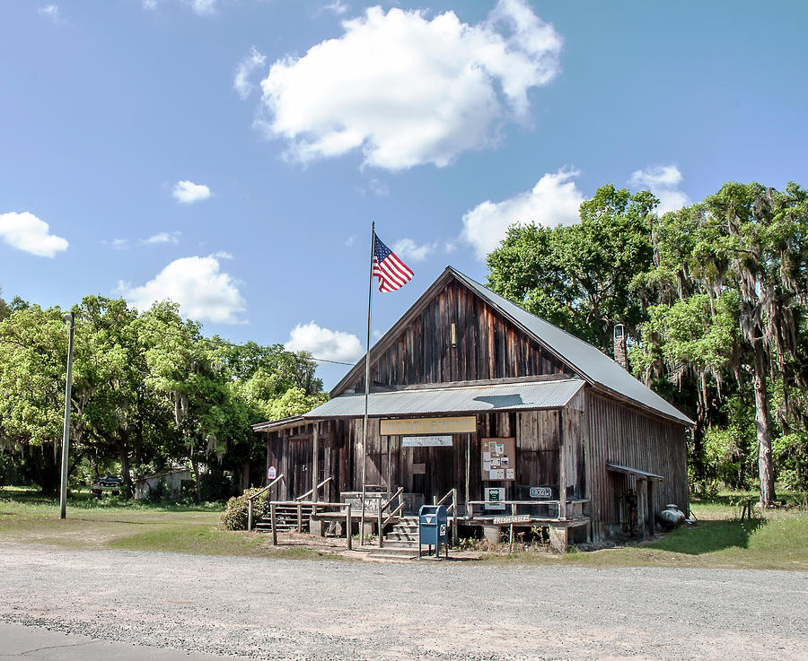 Evinston Community Store And Post Office Photograph