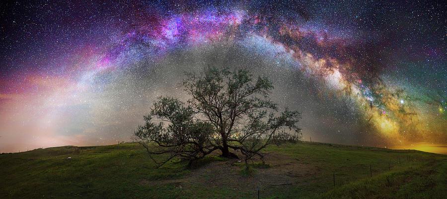 Milky Way Photograph - Evolution by Aaron J Groen