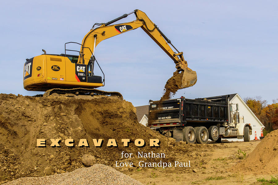 Excavator by Paul Vitko