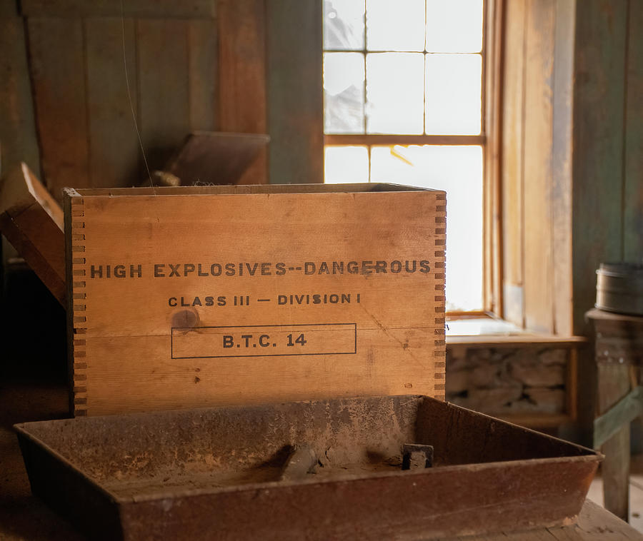 Explosives At The Mine Photograph