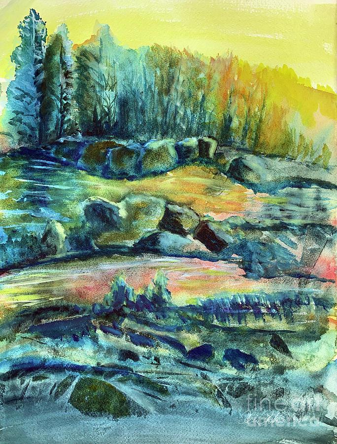Expressive Landscape Painting