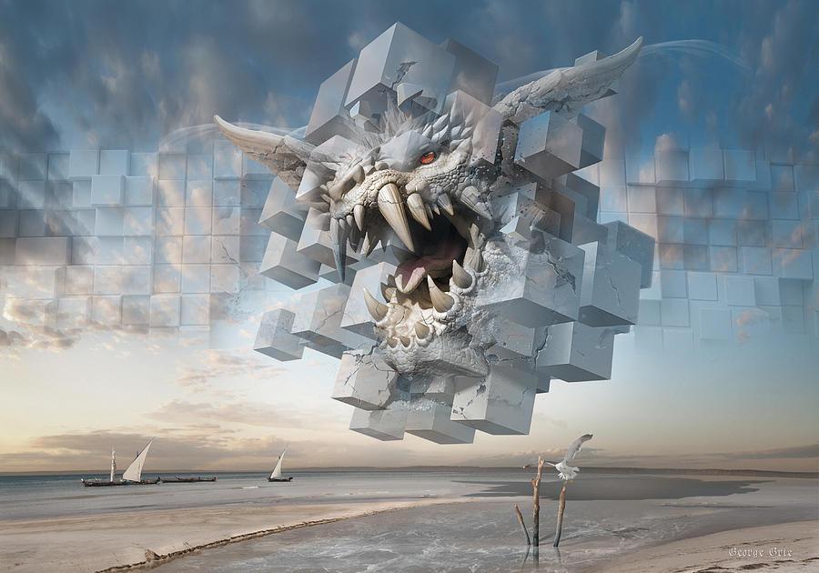 Eye Of The Hurricane Or Silence Is Deceitful-2 Digital Art