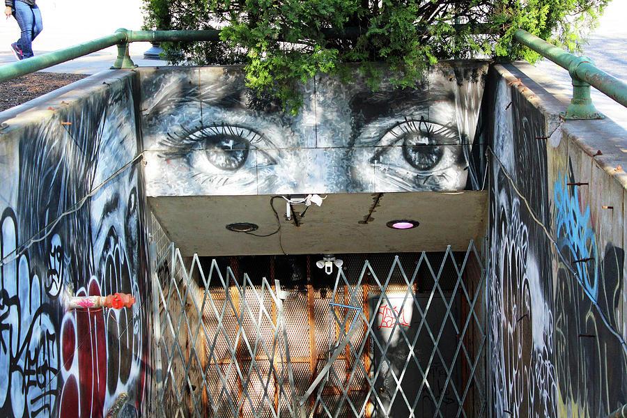 Eyes Above The Dupont Circle Underground Photograph