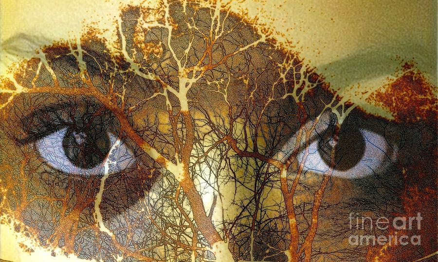 Eyes of the Amazon by Jodie Marie Anne Richardson Traugott          aka jm-ART