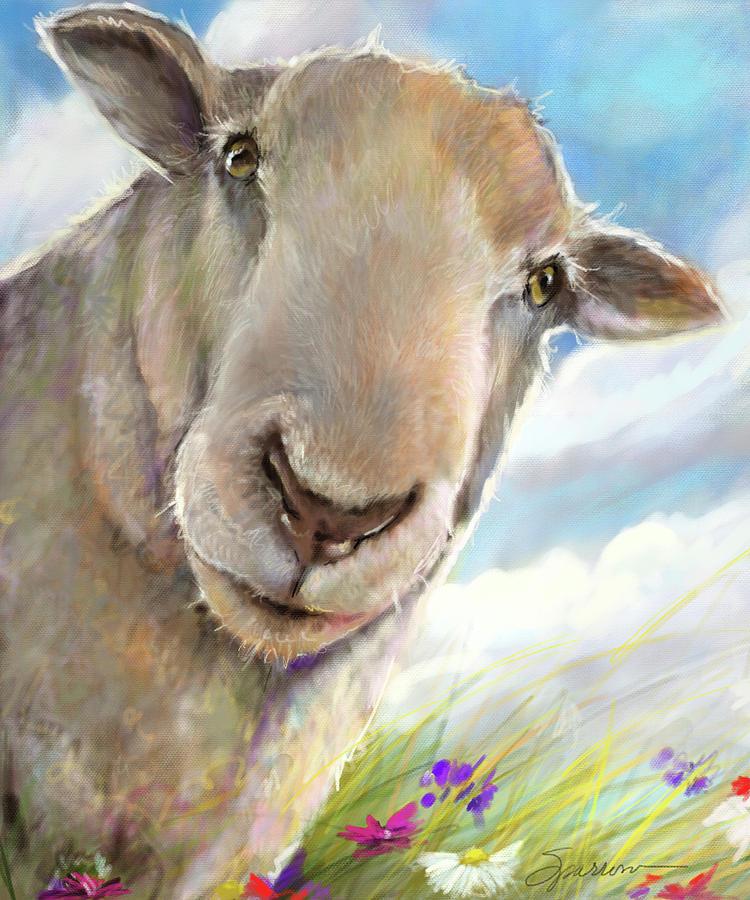 Eyes On Ewe Painting