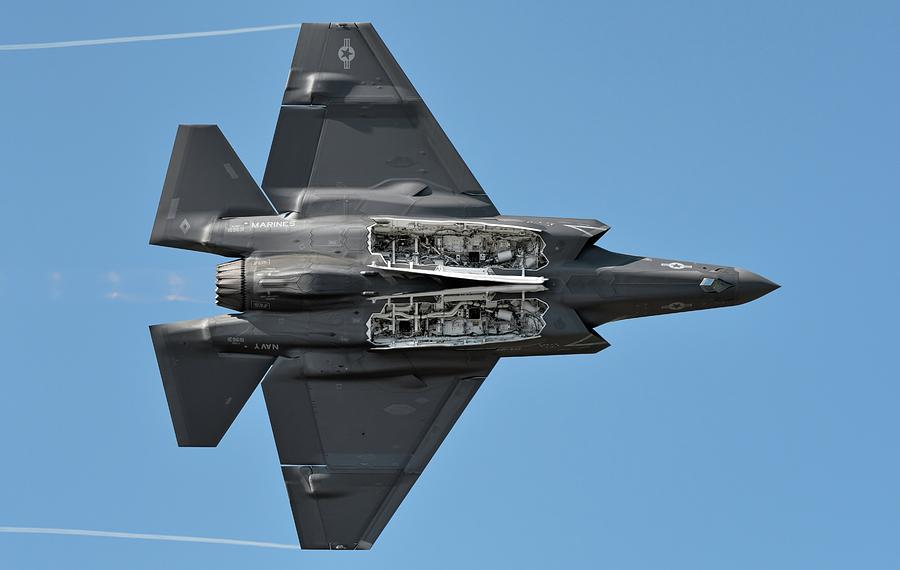 F-35C Weapons Bay Pass by Chris Buff