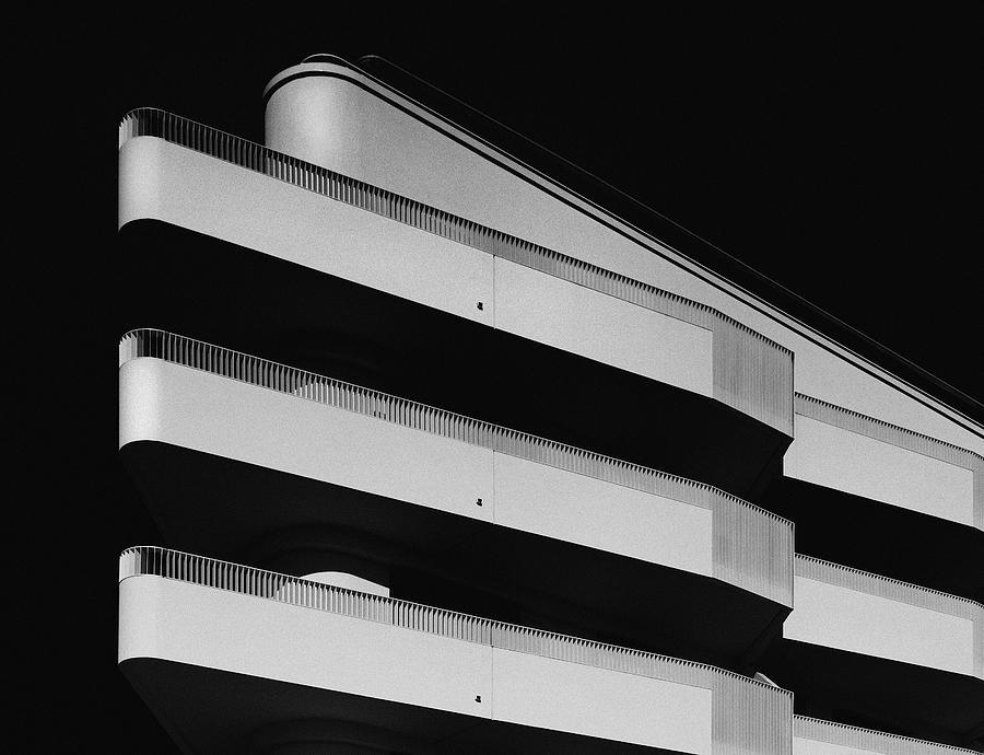 facade study lV Photograph by Anton Schedlbauer