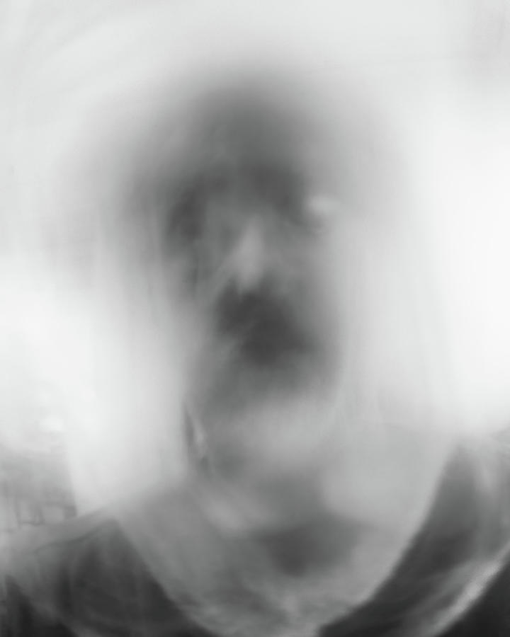 Black And White Photograph - Faces 3 by Scott Norris