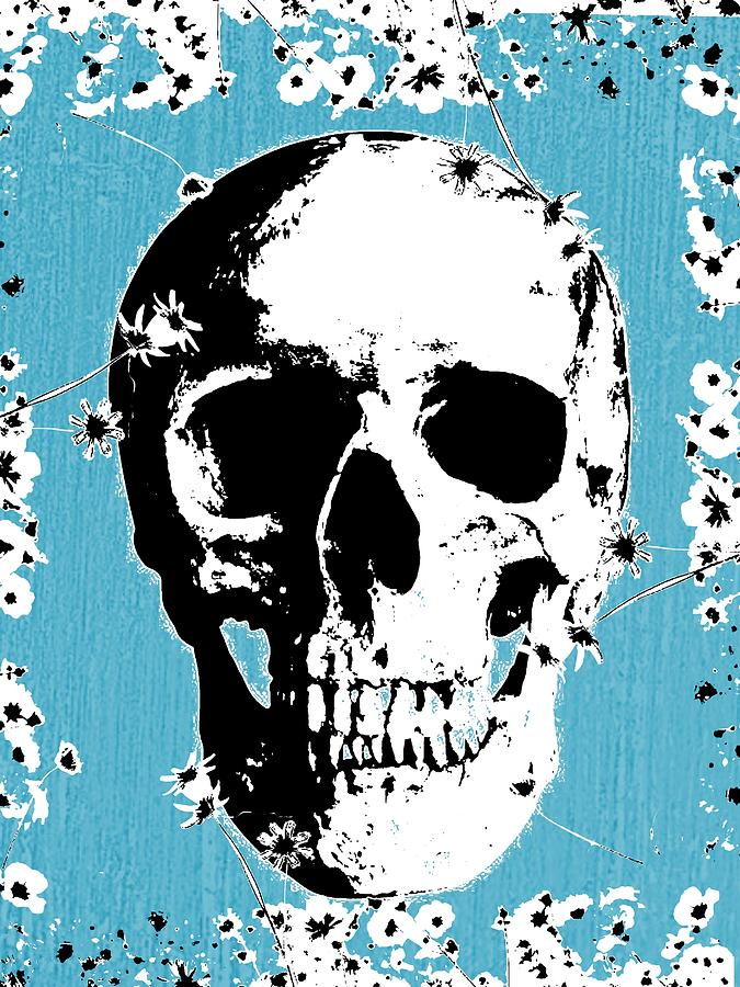 Skulls Digital Art - Faces Above And Beyond by Patrick McCormick
