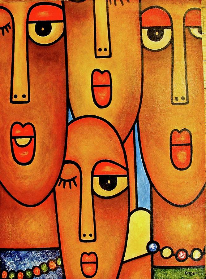Faces by Elisha Ongere