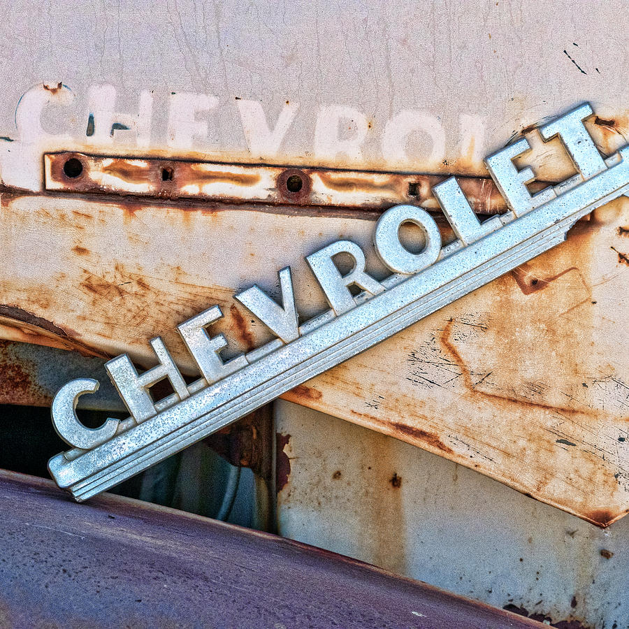 Faded Chevrolet Truck by Carol Leigh
