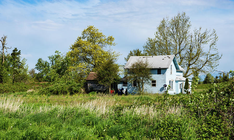 Faded House in May by Tom Cochran