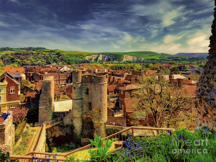 Lewes Photograph - Fading memories of a bright Summer day by Leigh Kemp