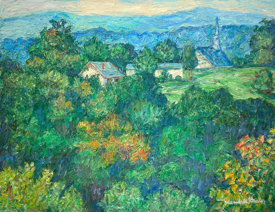 Landscape Paintings Painting - Fairlawn Ridge by Kendall Kessler