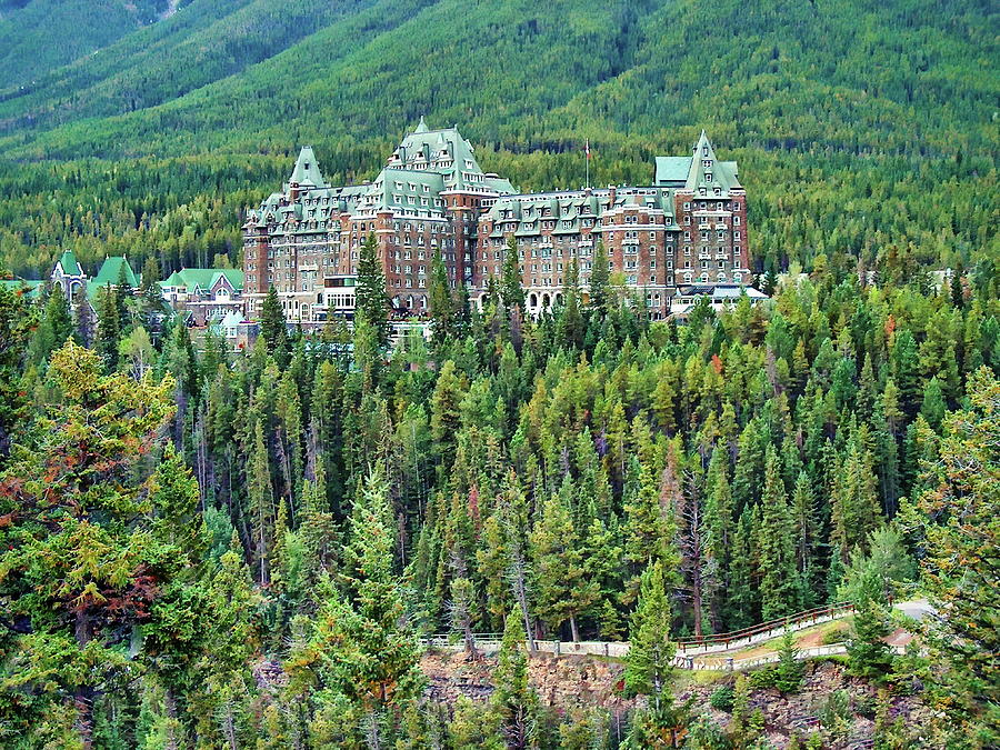 Fairmont Banff Springs Hotel Photograph