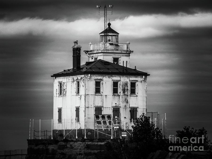 Fairport Harbor West Breaker Lighthouse Photograph
